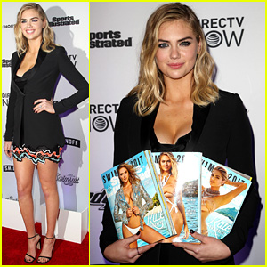Kate Upton Celebrates Her 'Sports Illustrated' Cover in NYC!