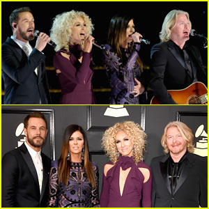 Little Big Town Sings 'Teenage Dream' While Introducing Katy Perry!