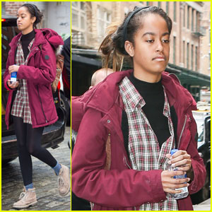 Malia Obama Keeps it Casual For Harvey Weinstein Internship