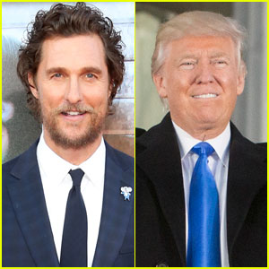 Matthew McConaughey Says Americans Should 'Embrace' Donald Trump as President