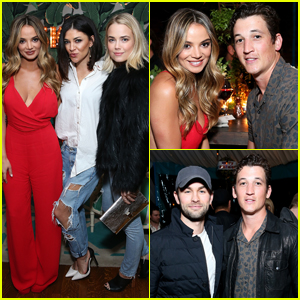 Miles Teller Celebrates 30th Birthday With His Famous Friends!