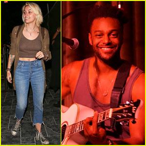 Paris Jackson Supports Cousin Austin Brown at His Acoustic Show (Video)