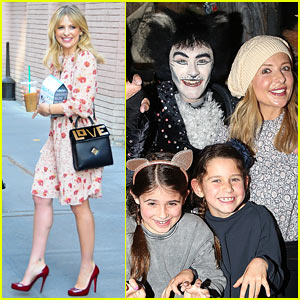 Sarah Michelle Gellar Checks Out Broadway's 'Cats' With Daughter Charlotte