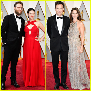 Seth Rogen & Jason Bateman Suit Up For Oscars 2017