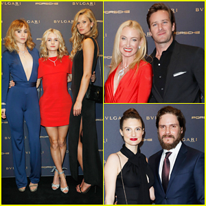 Suki Waterhouse & Armie Hammer Celebrate Berlin Film Fest Opening Night At Bulgari Party!