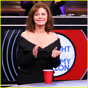 Susan Sarandon, Elijah Wood, Little Big Town & Jimmy Fallon Compete In Musical Beers - Watch Here!