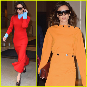 Victoria Beckham Is Bold & Bright in New York City