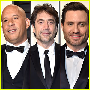 Vin Diesel, Javier Bardem, & Edgar Ramirez Are Suave Gents at Oscars After Party 2017!