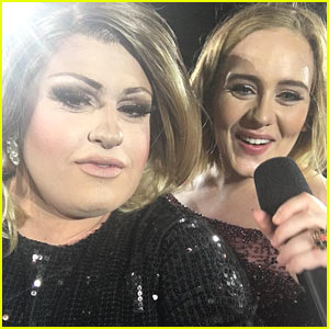Adele Invites Drag Queen Impersonator Up On Stage During Her Concert! (VIDEO)