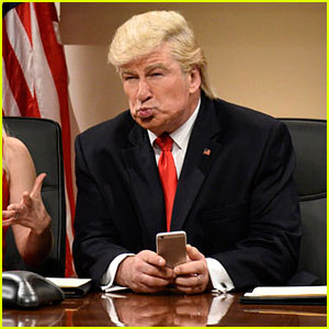 This Is Amazing - Alec Baldwin Taught a Young Boy His Trump Impression! (Video)