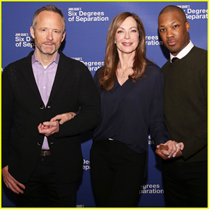 Allison Janney, Corey Hawkins & John Benjamin Hickey Team Up In 'Six Degrees of Separation' Revival!