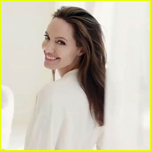 Angelina Jolie Stuns in New 'Mon Guerlain' Campaign Video