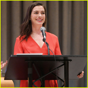 Anne Hathaway Speaks at UN For International Women's Day ...