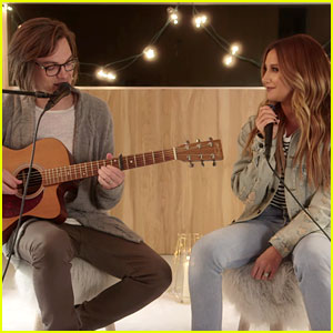Ashley Tisdale & Husband Christopher French Perform a Soothing Version of 'Shut Up & Dance' (Video)