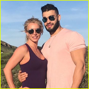 Britney Spears Celebrates Boyfriend Sam Asghari's 23rd Birthday!