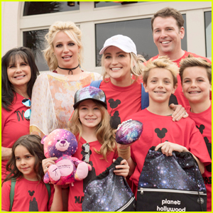 Britney Spears Takes Sean Preston, Jayden James & Niece Maddie to Disney!