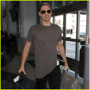 Chad Michael Murray Travels to NYC Days After Daughter is Born