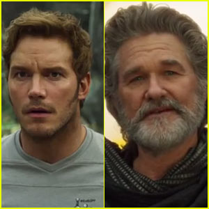 Chris Pratt Meets His Dad Kurt Russell in New 'Guardians of the Galaxy Vol 2' Trailer  - Watch Now!