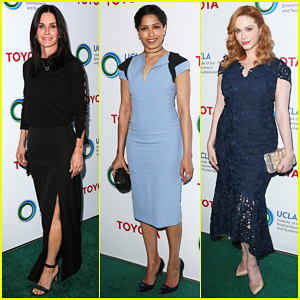 Courteney Cox & Freida Pinto Celebrate Innovators At UCLA IoES Gala 2017!