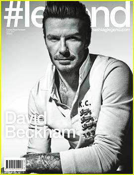 David Beckham's Sons Raid His Closet & Love His Clothes!