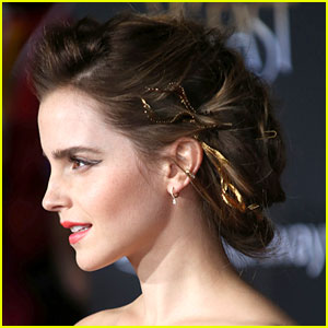emma watson�s la premiere look made �beauty amp the beast