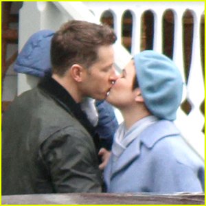 Josh Dallas & Ginnifer Goodwin Film the 'OUAT' Season 6 Finale