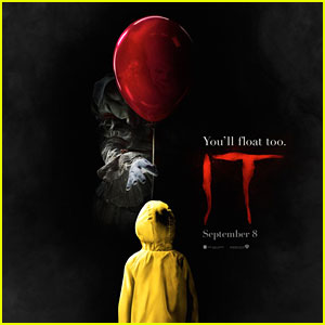 'It' Poster Features Bill Skarsgard as Pennywise the Clown!