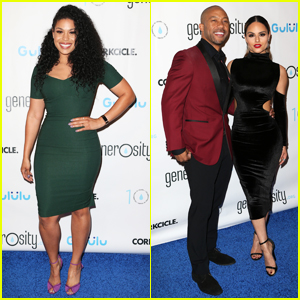 Jordin Sparks, Pia Toscano & Jane Lynch Help Spread Awareness For World Water Day 2017!