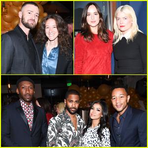 Justin Timberlake, Dakota Johnson & Mahershala Ali Celebrate Most Powerful Stylists With THR!