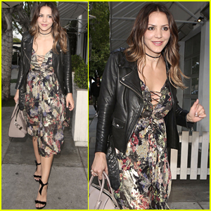 Katharine McPhee Celebrates Her Birthday in WeHo!