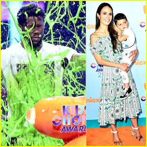 Kevin Hart Gets Slimed at the Kids' Choice Awards!