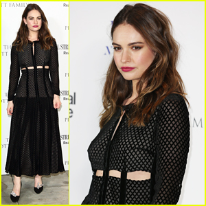 Lily James Signs On To Star In Indie Western 'Little Woods'!
