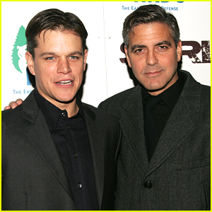 Matt Damon Jokes That Pal George Clooney Will 'Be a Mess' as a Dad!