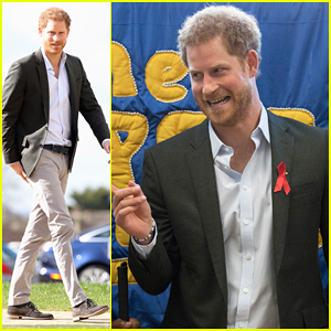Prince Harry Follows In Mom Princess Diana's Footsteps With HIV Charity Visit!
