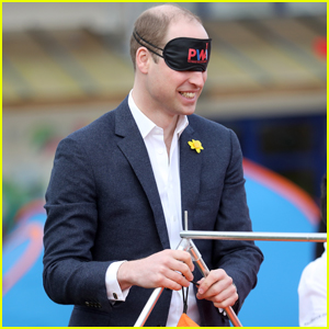Prince William Casually Pitches A Tent While Blind-Folded