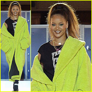 Rihanna Walks Runway at Her Fenty Puma Fashion Show!