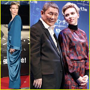 Scarlett Johansson Kicks Off 'Ghost In The Shell' Press Tour In Tokyo - Watch New Featurette!