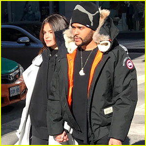 Selena Gomez & The Weeknd Hold Hands While Shopping in Toronto
