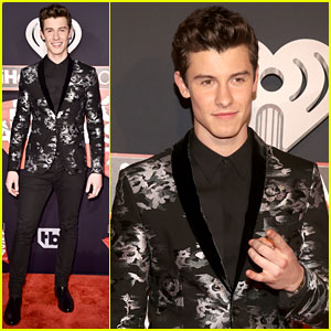 Shawn Mendes Looks Dapper in Armani at iHeartRadio Music Awards 2017!