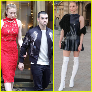 Sophie Turner & Joe Jonas Enjoy Date Night in Paris!