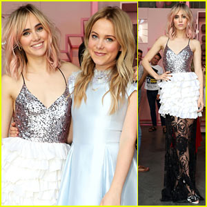 Suki Waterhouse & Poppy Jamie Show Off Their Style at Pop-Up Shop Launch