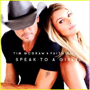 lyrics graw with faith hill speak girl
