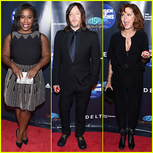 Uzo Aduba, Norman Reedus, & Susan Sarandon Attend Garden of Laughs Comedy Benefit!