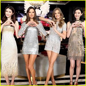 Victoria's Secret Models Celebrate New Store in Shanghai!