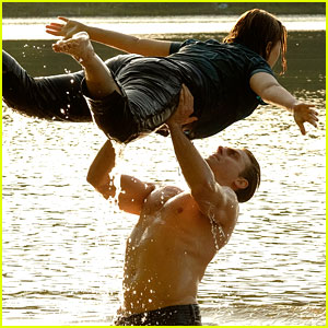 Abigail Breslin & Colt Prattes Perform Iconic 'Dirty Dancing' Lift (Photos)