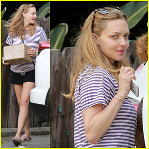 Amanda Seyfried Spends Time With Her Mom After First Official Post-Baby Appearance