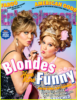 Amy Schumer & Goldie Hawn Talk 'Snatched' with 'EW'!