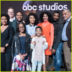 The 'Black-ish' Cast Steps Out for Emmy Consideration Panel