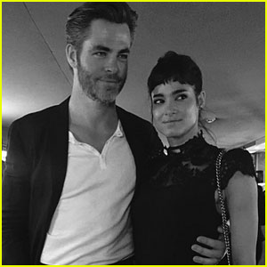Chris Pine & Sofia Boutella Spark Romance Rumors at Coachella