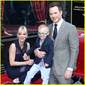 So Cute! Chris Pratt Brought His Whole Family to Walk of Fame Ceremony